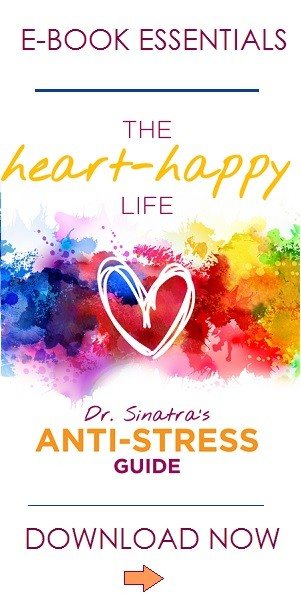 cover of Dr. Sinatra's stress ebook