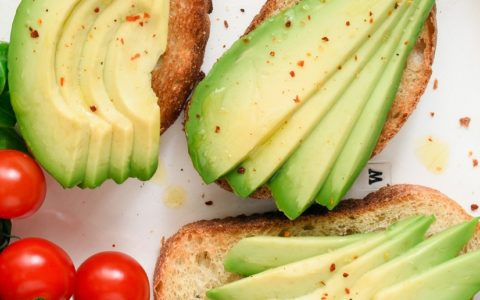 avocado toast for a healthy breakfast