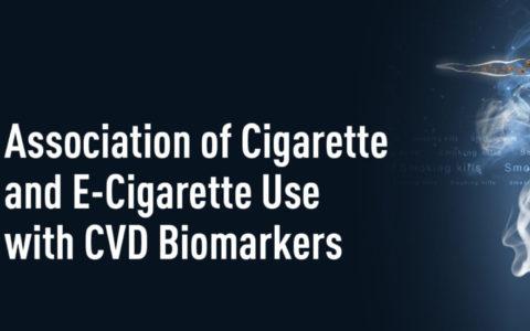 CHMC ASSOCIATION OF CIGARETTE AND E-CIGARETTE USE WITH CVD BIOMARKERS